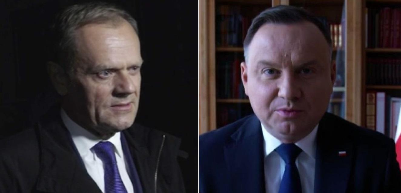 Andrzej Duda nie wytrzymał i zareagował na Twitterze gdy Marek Belka opierając się o fake news zaczął drwić, do tego dołączył się Donald Tusk.