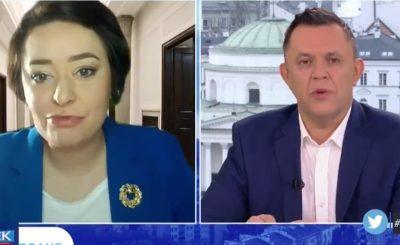Anna Maria Żukowska podczas wywiadu w TVP wypowiedziała słowa, które bardzo mocno zaskoczyły prowadzącego program dziennikarza.