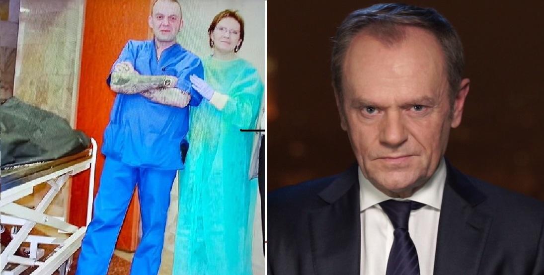 """Po tym jak wyemitowano film """"Stan Zagrożenia"""" Ewy Stankiewicz i pokazano zdjęcia na których jest Ewa Kopacz, Donald Tusk również zabrał głos"""