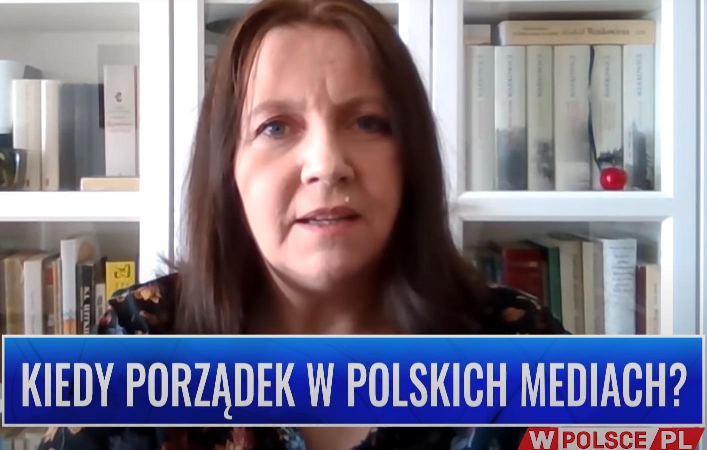 """Joanna Lichocka w wywiadzie jakiego zdecydowała się udzielić powiedziała co sądzi na temat programu """"Warto Rozmawiać"""" Jana Pospieszalskiego"""