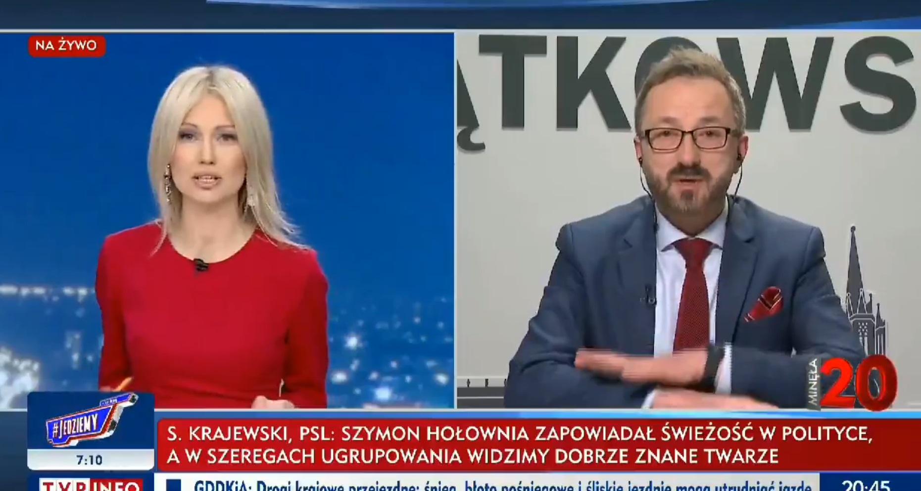 Magdalena Ogórek wyśmiała przedstawiciela opozycji podczas programu na żywo w TVP Info, tematem był w tej chwili Borys Budka