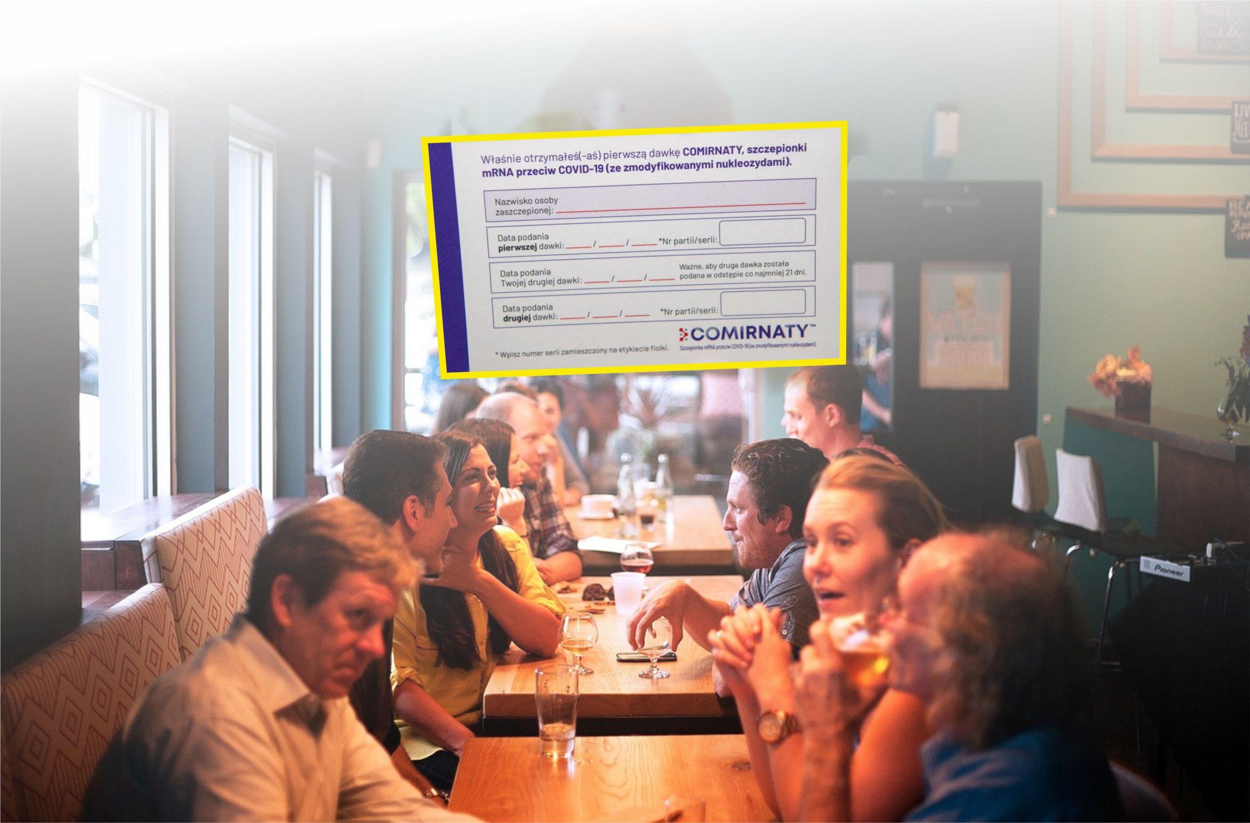 Restauracje tylko dla zaszczepionych? Już wkrótce taki pomysł będzie dyskutowany w rządzie i jak się okazuje ma wielu zwolenników