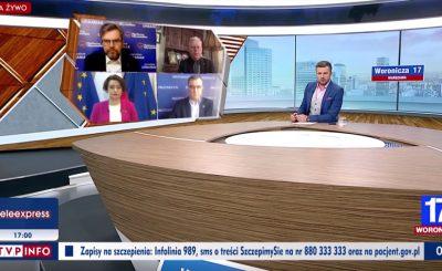 """Jarosław Urbaniak z PO był gościem programu TVP Info """"Woronicza 10"""", stwierdził że propagandyści mówią iż oddali śledztwo w sprawie smoleńska"""