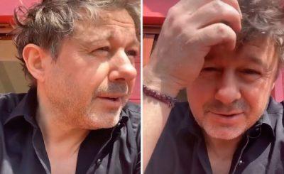 """Andrzej """"Piasek"""" Piaseczny 8 maja w sobotę dokonał coming out i po latach spekulacji wyznał, że jest gejem. Zrobił to w słowach piosenki"""