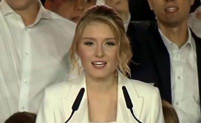 Kinga Duda jest e na językach wszystkich, teraz do sieci wyciekło nagranie, córka prezydenta Andrzeja Dudy występuje na scenie