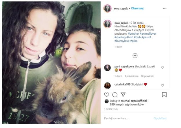 Ewa Szpak opublikowała w serwisie Instagram prywatne zdjęcie sprzed lat, na którym pozuje także Michał. Jak wyglądała wtedy gwiazda muzyki?