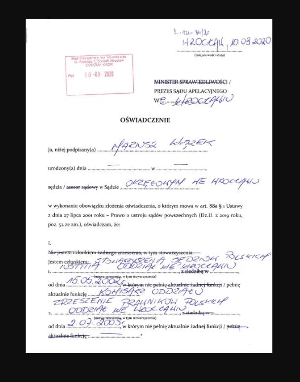 Kim jest sędzia Mariusz Wiązek, który skazał Komendę na wiele lat więzienia? Tomasz Komenda wczoraj otrzymał decyzję o wypłacie odszkodowania