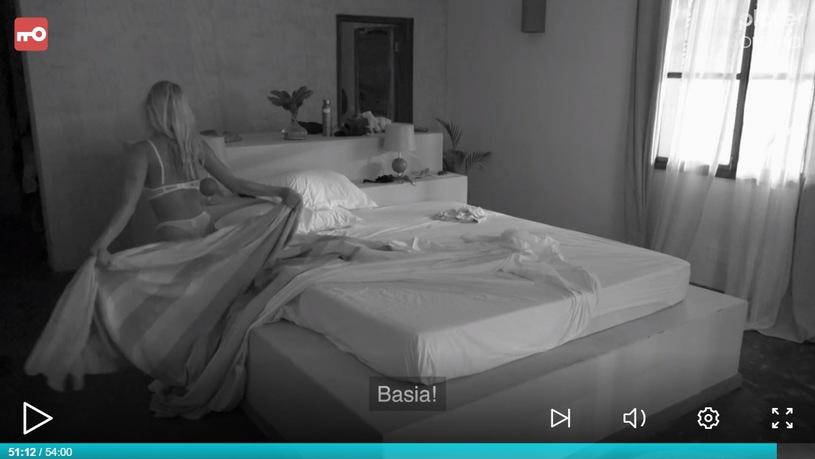 """Basia I Krystian dostarczają widzom programu """"Hotel Paradise"""" gorących emocji, po ostatniej kłótni uprawiali seks przed kamerami"""