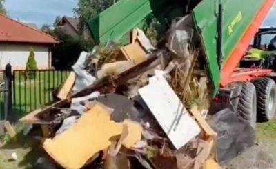 Sceny jakich byliśmy świadkami na TikToku bardzo spodobały się internautom, został poruszony również temat wyrzucania śmieci w lasach.