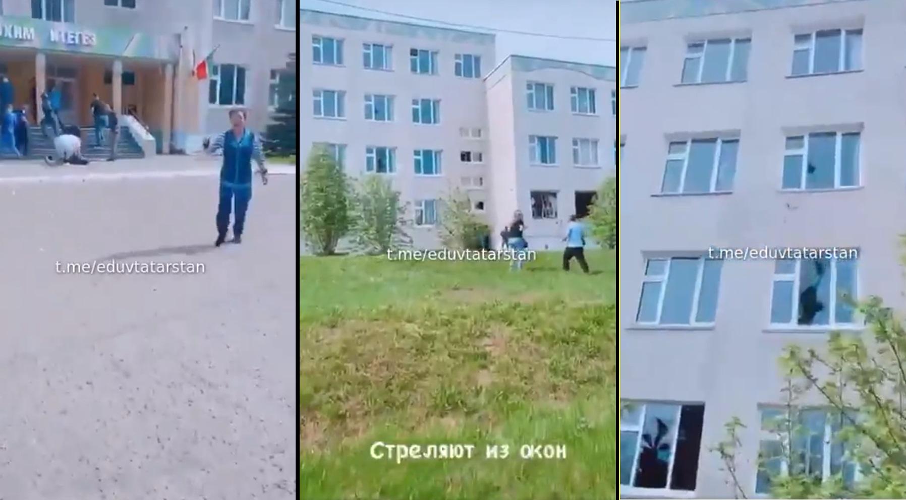 Strzelanina w szkole w Kazaniu w Rosji, jak donoszą media, napastnik otworzył ogień, zginęło 11 osób głównie dzieci.