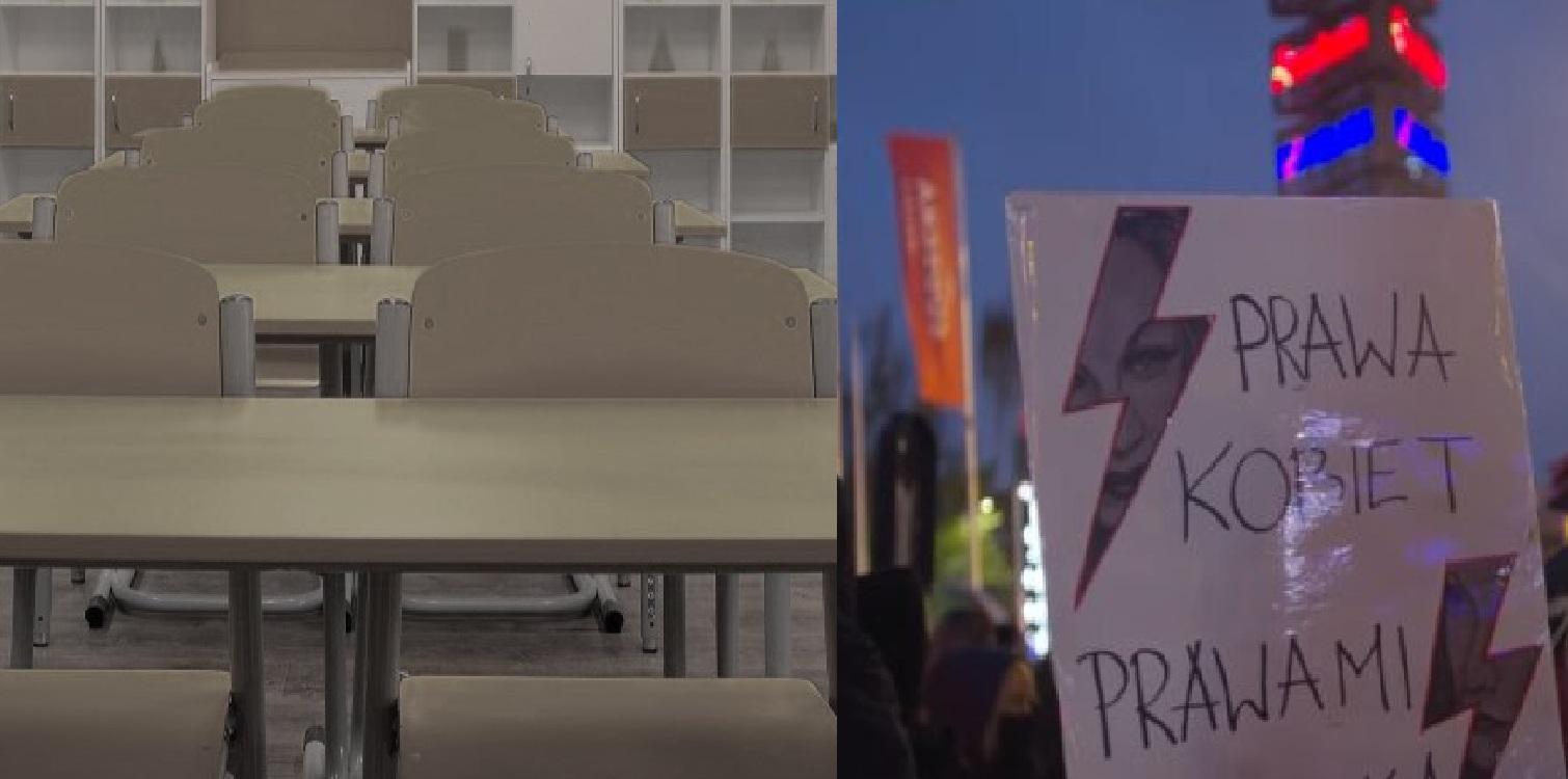 W Wyborczej wskazano, że jedynym powodem dla którego uczennica została wyrzucona z liceum było uczestnictwo w protestach. Jaka jest prawda?