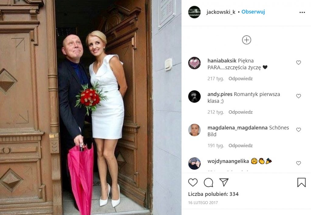 Żona Krzysztofa Jackowskiego