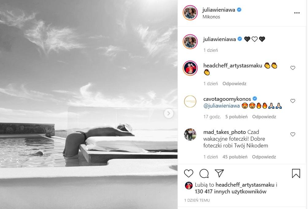 Julia Wieniawa została sfotografowana topless, zdjęcia zrobił prawdopodobnie Nikodem Rozbicki. Robią piorunujące wrażenie