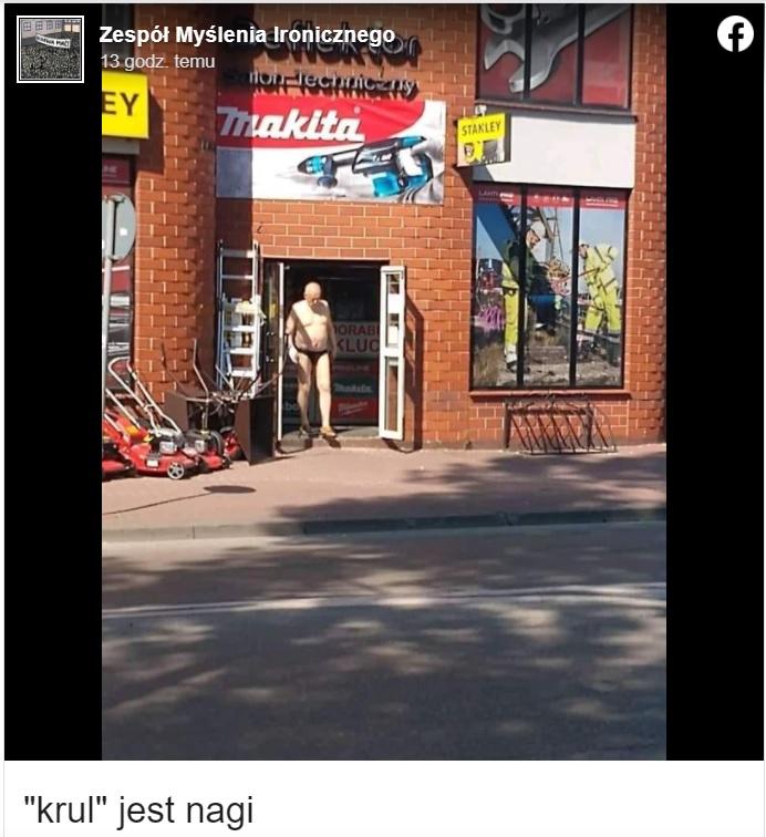 Janusz Korwin-Mikke został przyłapany gdy wychodził ze sklepu w samych majtkach... Widok mocno zaskoczył, bowiem nikt się tego nie spodziewał