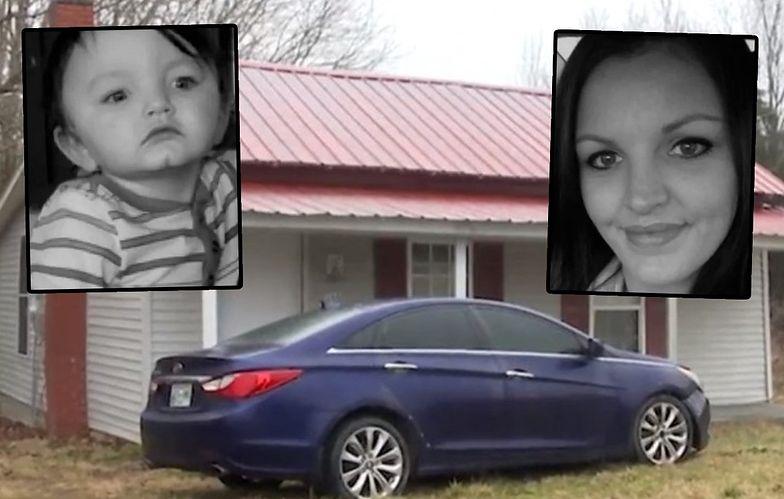 Znaleziono martwego 15-miesięcznego chłopca przypiętego pasami do fotelika samochodowego. Dziecko było martwe. W łazience leżała matka.