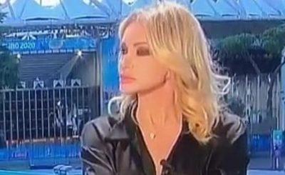 Paola Ferrari nagle znalazła się na ustach wszystkich przez wpadkę do jakiej doszło podczas transmisji w studio sportowym na Euro 2020