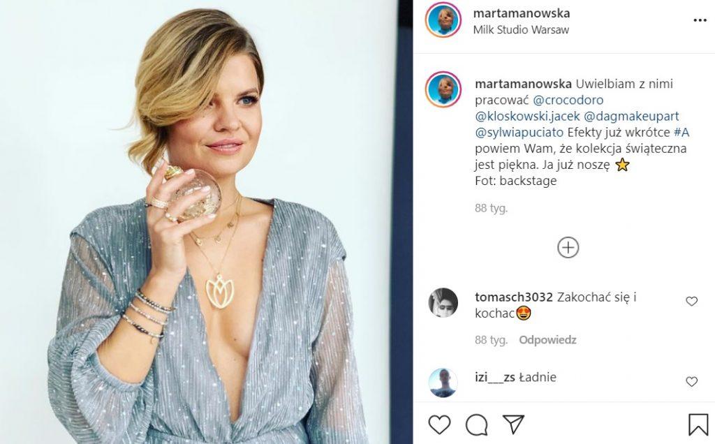 Marta Manowska nago? Prowadząca programu Rolnik szuka Żony, Sanatorium Miłości oraz The Voice Senior zdecydowała się na sesję na Instagram.