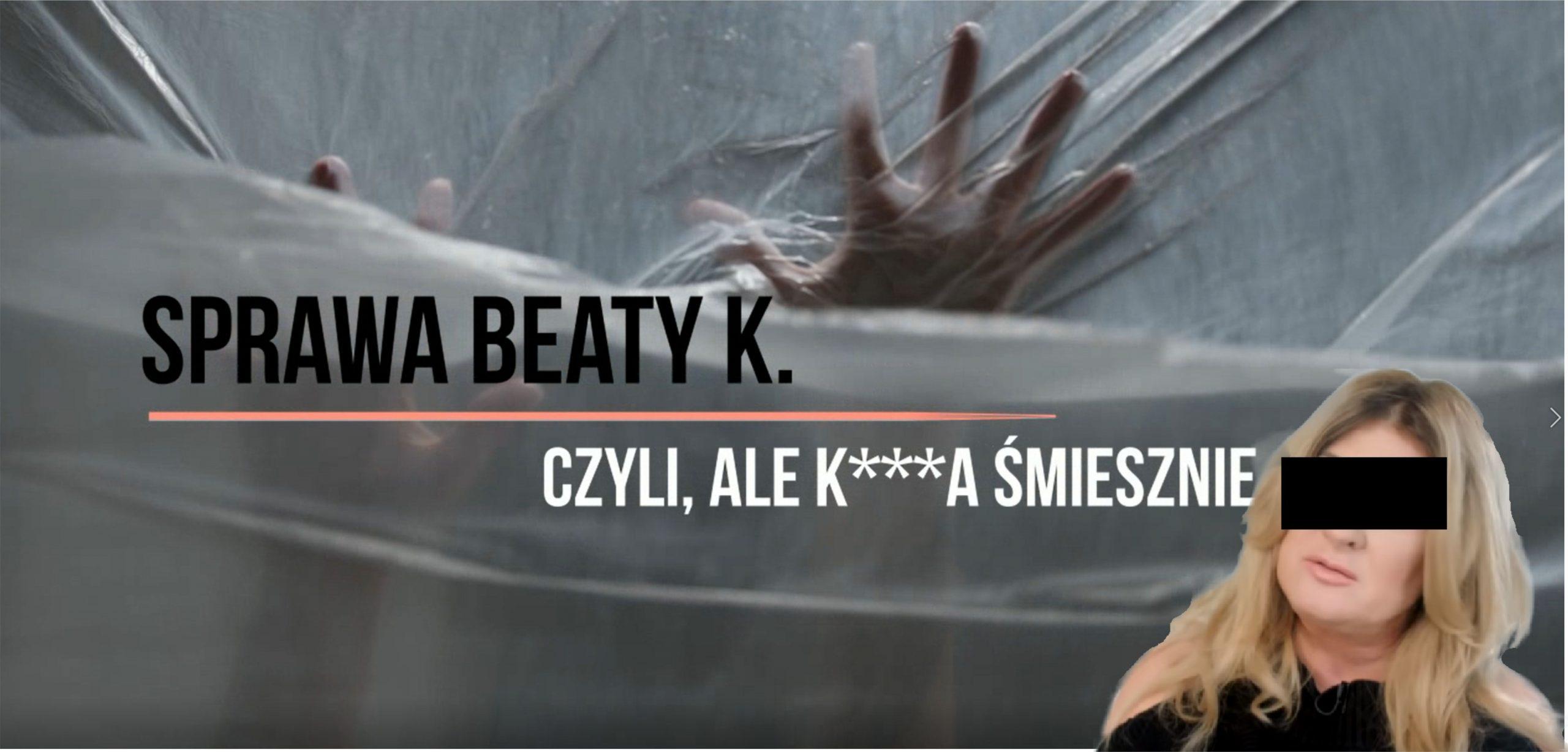 Beata K. pijana została zatrzymana przez policję podczas jazdy samochodem. W wydychanym powietrzu miała 2 promile alkoholu. Niestety zaczął się lincz i hejt.