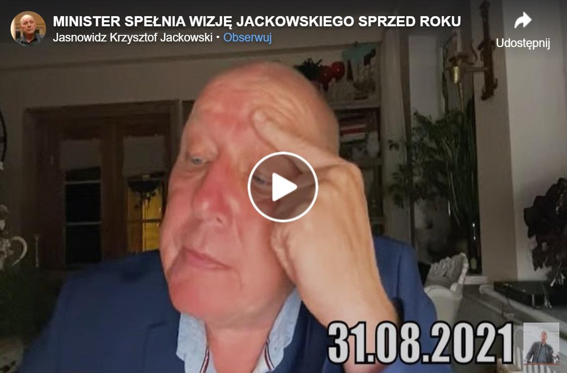 Krzysztof Jackowski to postać bardzo kontrowersyjna, jasnowidz z Człuchowa jakiś czas temu przepowiedział coś co zmroziło krew w żyłach.