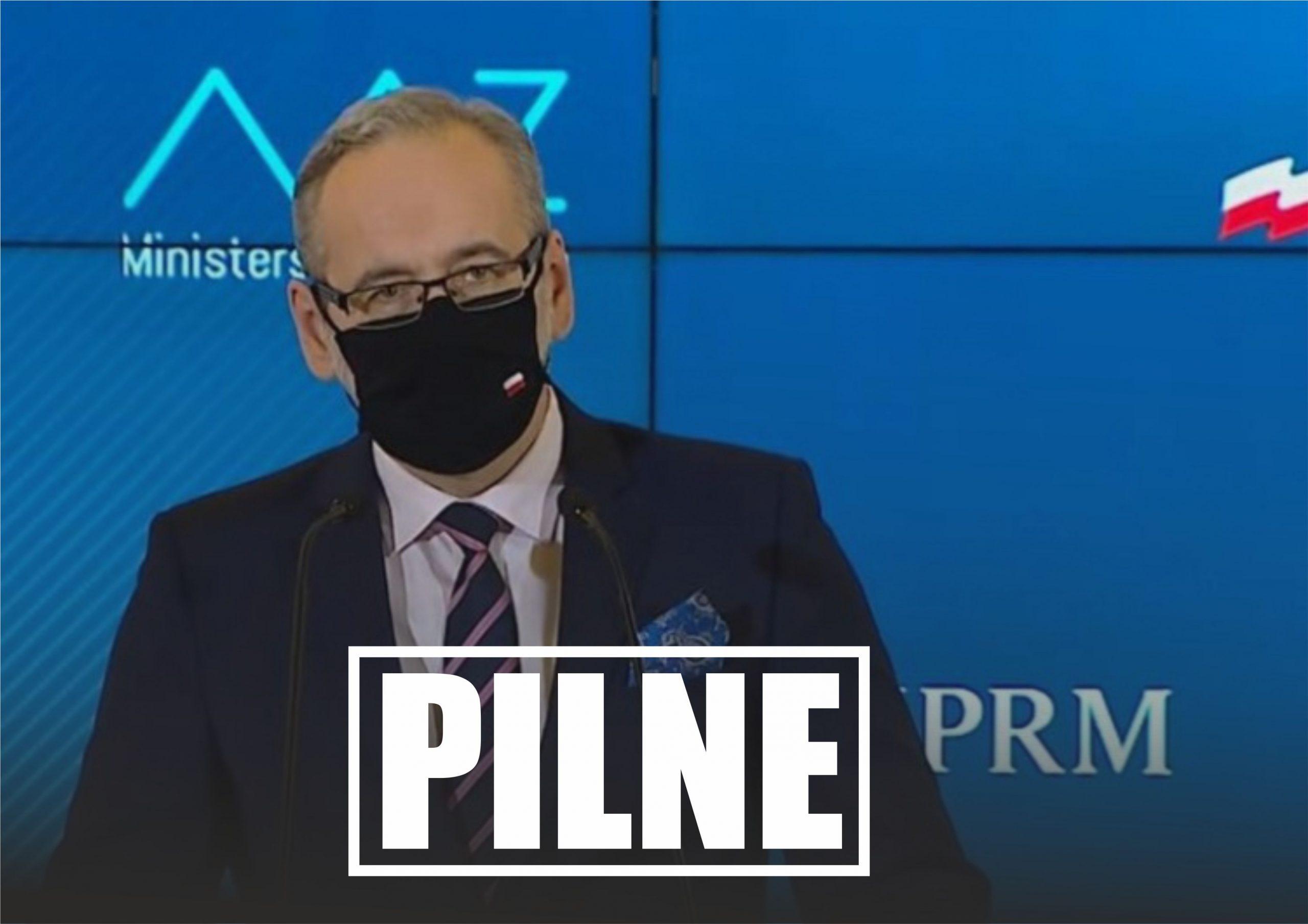 Minister Adam Niedzielski ogłosił właśnie kto będzie podlegał pod obostrzenia, które zostaną nałożone na Polskę na jesień